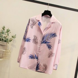 LM+ Tropical Motif Shirt
