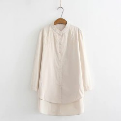 LM+ Long Tunic Blouse