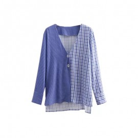 Mix Checkered Blouse