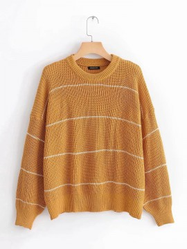 Stripe Knit Pullover