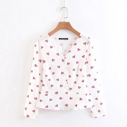 Cherry Motif Blouse