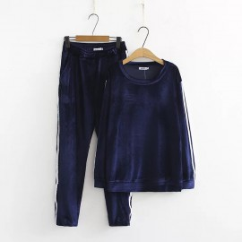 LM+ Top and Crop Pants Set