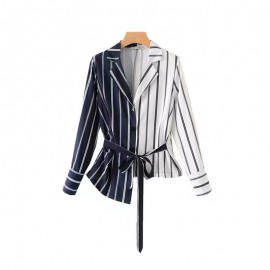 Combination Stripe Blazer