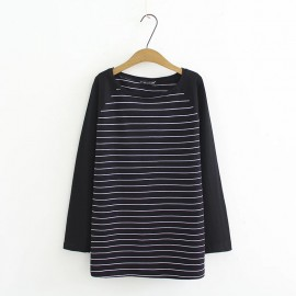LM+ Basic Stripe Top