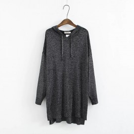 LM+ Hooded Knit Tunic