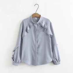 LM+ Blouse with Frill