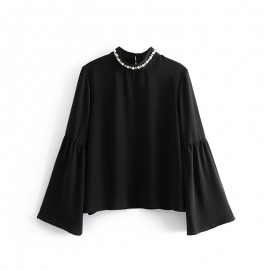 Collar Applique Top
