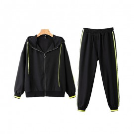 Athletic Jacket with Pants Set