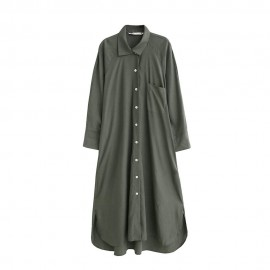 Long Tunic Shirtdress