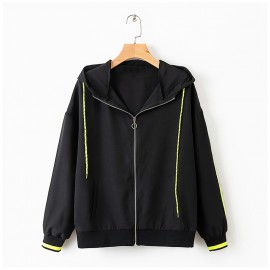 Athletic Jacket with Hood