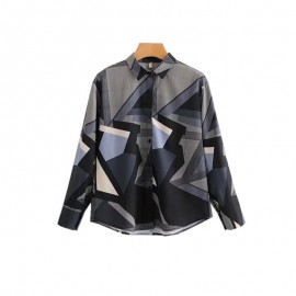 Abstract Motif Shirt