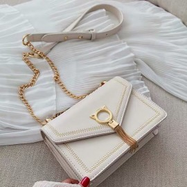 Tassel Lock Sling Bag
