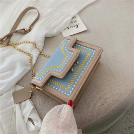Embroidery Deco Chain Bag
