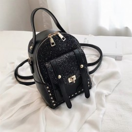 Two-Way Studded Backpack