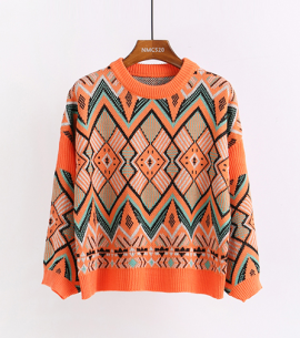 Aztec Inspired Sweater