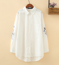 LM+ Embroidered Sleeve Shirt