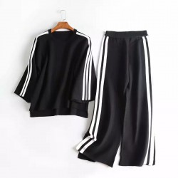 Athletic Inspired Top and Pants Set