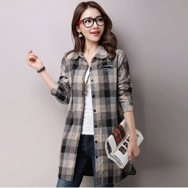 MIRA Checkered Shirt