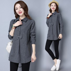 MIRA Stripe Blouse