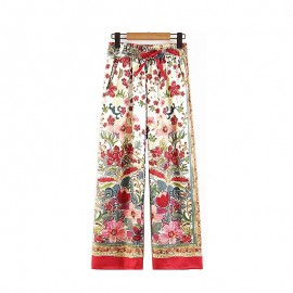 Reflection Print Pants