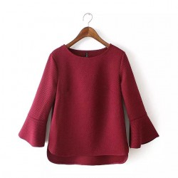 Flare Sleeve Top (3 Color)