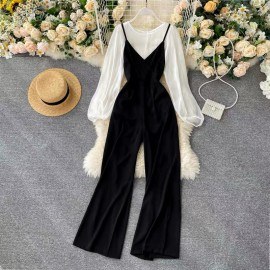 Pantsuit with Inner Top