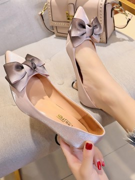 Ombre Bow Pumps