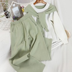 Combination Top and Pants Set