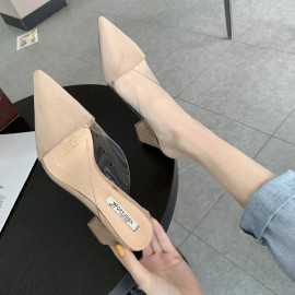 Pointed Toe Slip-Ons
