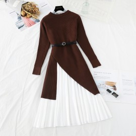 Two-Piece Knit Dress