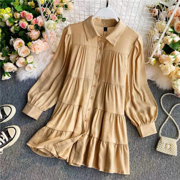 Long Tiered Blouse
