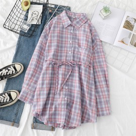 Pastel Checkered Shirt