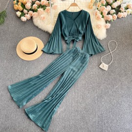 Kimono Top and Pants Set
