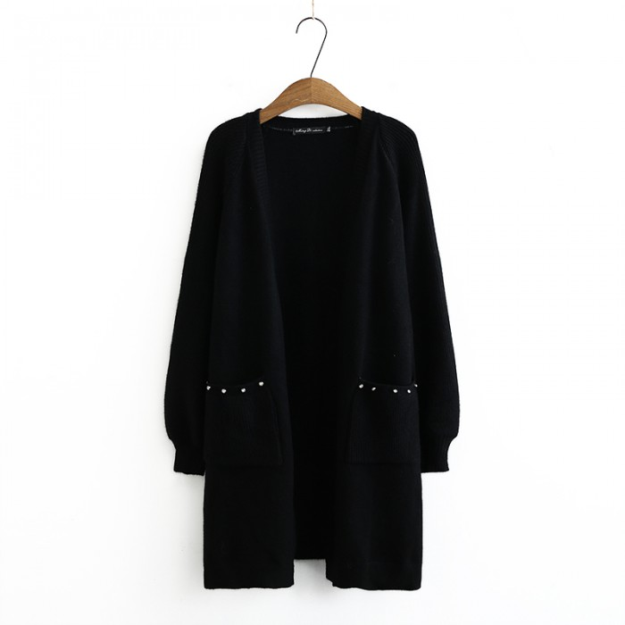 LM+ Long Knit Cardigan