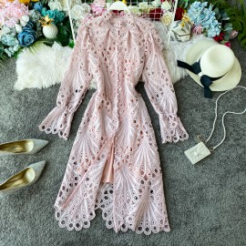 Crotchet Eyelet Dress
