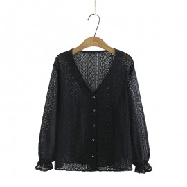 LM+ Lace Cardigan