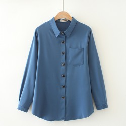 LM+ Shirt with Decorative Buttons