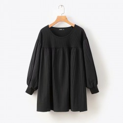 LM+ Pleated Blouse