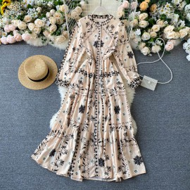 Reflection Motif Dress