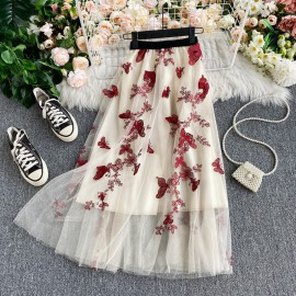Butterfly Applique Skirt