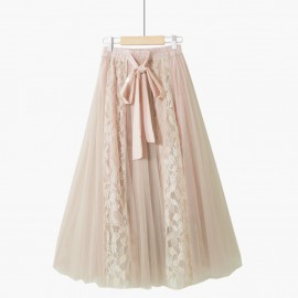 Ribbon Lace Skirt