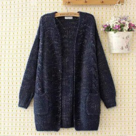 LM+ Oversized Knit Cardigan