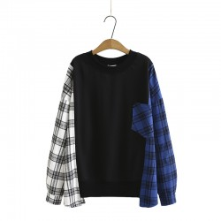 LM+ Checkered Pullover