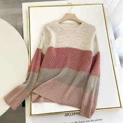 Pastel Colorblock Pullover