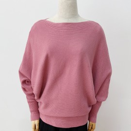 Batwing Knit Pullover