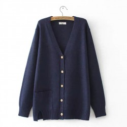 LM+ Knit Button Cardigan