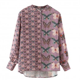 Butterfly Motif Blouse