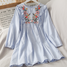 Floral Embroidered Tunic