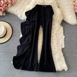 Long Pants with Ruffle