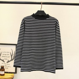 LM+ Stripe Knit Pullover